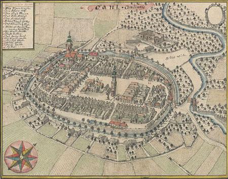 Plan miasta: Fryderyk Bernard Werner